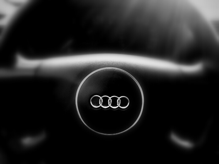 kierownica auta marki Audi, model A3